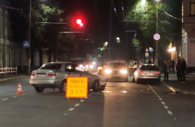 У центрі Житомира сталася ДТП, один водій травмований