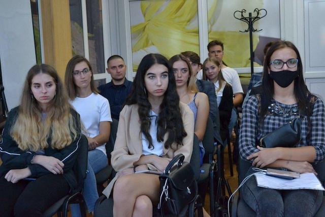 Віктор Євдокимов зустрівся з лідерами студентського самоврядування