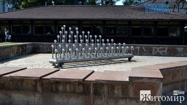 """""""День житомирянина"""": у місті працював лише один фонтан - де мав """"засвітитися"""" мер. ФОТО"""