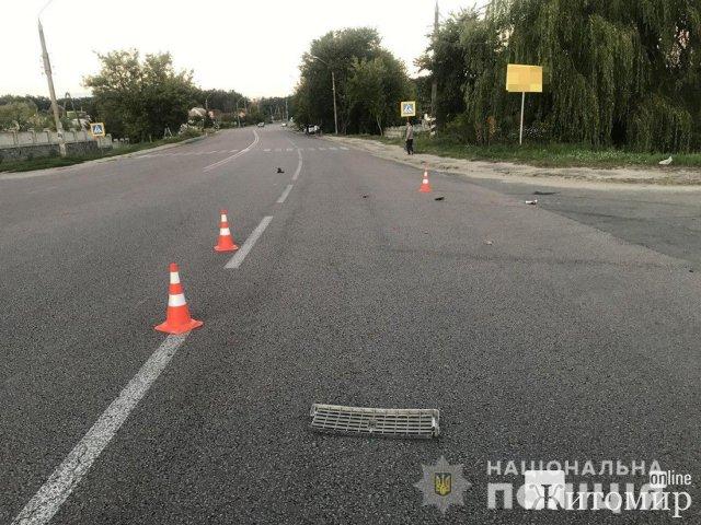 Поліція взялася за розслідування ДТП біля Житомира, де постраждала багатодітна жінка. ФОТО
