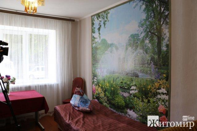 У Житомирі безхатько отримав кімнату в гуртожитку. ФОТО