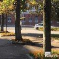 На розі вулиць у Житомирі поліцейські перевірили невідомий пакунок, вибухівки не знайдено