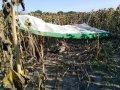 На поле в Житомирській області впав дельтаплан, пілот загинув. ФОТО
