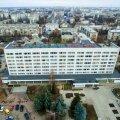 """""""Можно повесить 10 баннеров на весь фасад бывшей гостиницы Житомир, но это никак не решит проблему грязи, бардака и свинарника"""""""