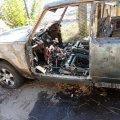 В Олевську та Коростені горіли машини. ФОТО