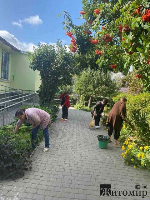 Як вихідними у Житомирі місто прибирали. ФОТО