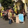 День туризму: 11 турагенцій Житомира презентували себе на Михайлівській
