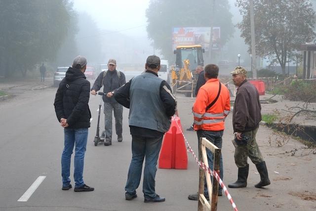 Олександр Павленко: «На Гагаріна екологічна катастрофа, третина міської каналізації тече в землю!»