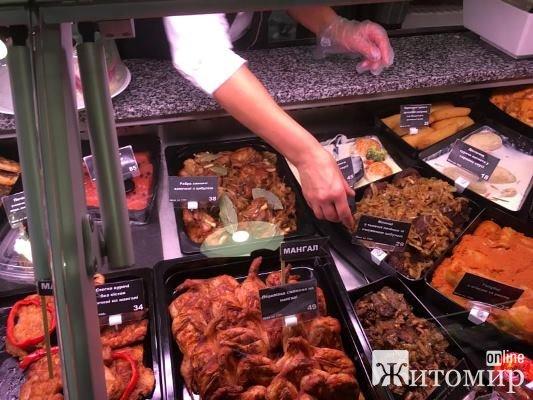 Житомирянам пропонують нові смаколики у популярному маркеті делікатесів. ФОТО