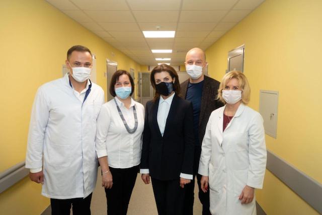 В Національному інституті раку за сприяння Roshen відкривають унікальні відділення онкогематології і трансплантації кісткового мозку