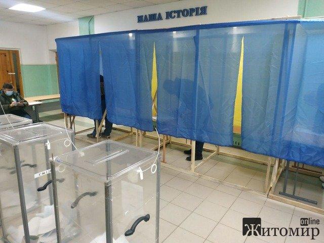 На одній з виборчих дільниць Житомира дуже низька явка. ФОТО