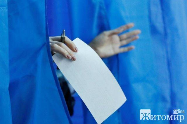 Явка виборців у Житомирі станом на 12:00
