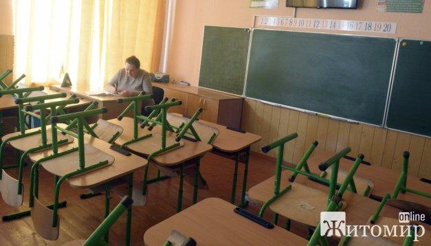 Житомирські школи переходять на дистанційне навчання, але є виключення
