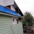 На провулку Соколовському в Житомирі горіла господарча будівля