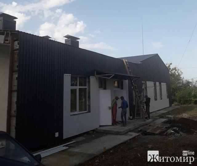 У селі біля Житомира будують амбулаторію за 9 млн грн. ФОТО
