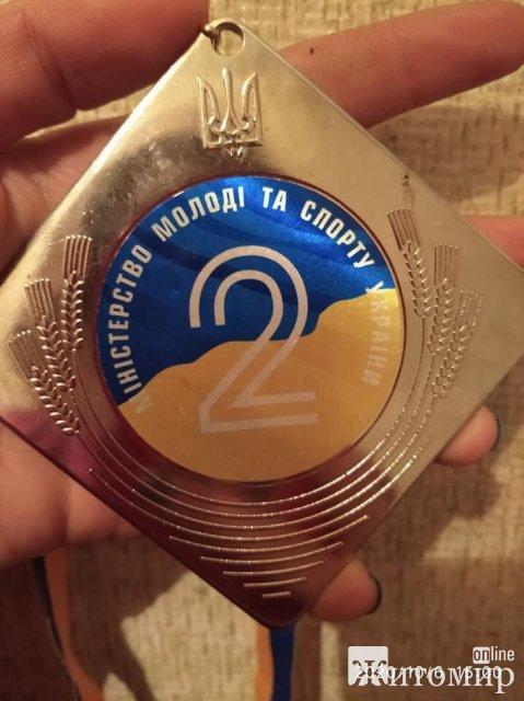 Школярка з Житомирщини виборола ІІ місце на чемпіонаті України з армспорту