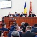 На початку сесії облради керівники Житомирської області роздали нагороди та ордени