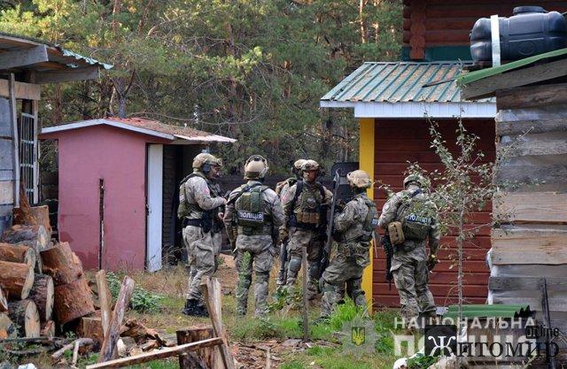 Стрілянина на Житомирщині: киянин поцілив у грибника. ФОТО