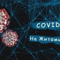 За добу на Житомирщині на Covid захворіли більше 300 осіб та померли двоє