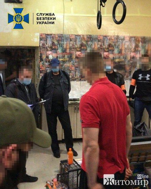 Уродженець Житомирщини, будучи під вартою, керував злочинною групою, яка виготовляла та збувала зброю. ФОТО