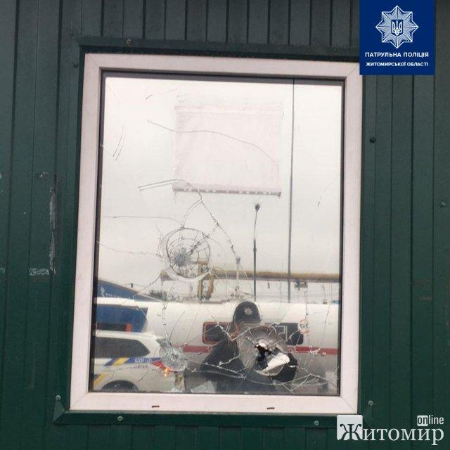 На проспекті Незалежності в Житомирі стріляли. ФОТО