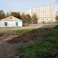 У Житомирі почали реконструкцію спортмайданчика біля ліцею. ФОТО