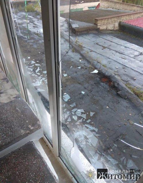 На дах одноповерхової прибудови готелю в Коростені закинули гранату, - поліція