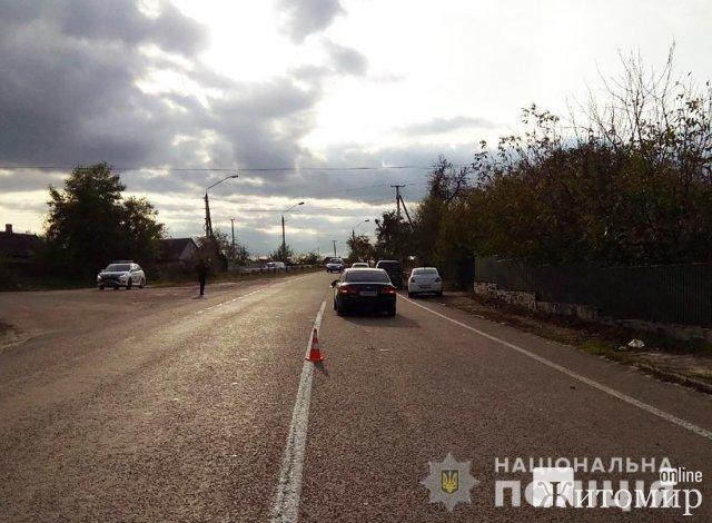 Неподалік Житомира зіштовхнулися 4 автомобілі, одна людина загинула. ФОТО