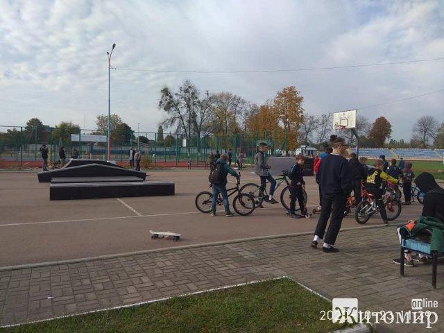 У Коростені відкрили скейт-парк. ФОТО