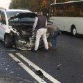 """Аварія на трасі """"Житомир-Чуднів"""". Є постраждалі. ФОТО"""