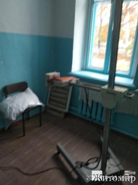 В яких умовах приймають хворих на коронавірус в лікарнях Житомирської області. ФОТО