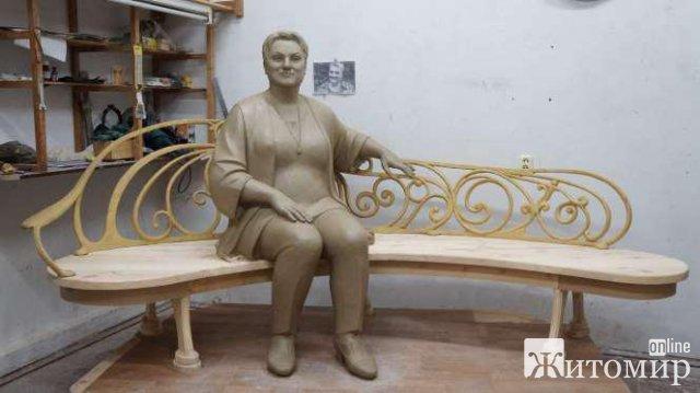 """Житомирян просять надавати свої пропозиції щодо встановлення архітектурно-скульптурної композиції """"Марина Поплавська"""""""