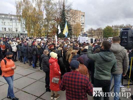 """Віталій Бунечко зіграв свою роль: він вийшов до ФОПів та пообіцяв, що """"не буде перекривати кисень підприємцям"""""""
