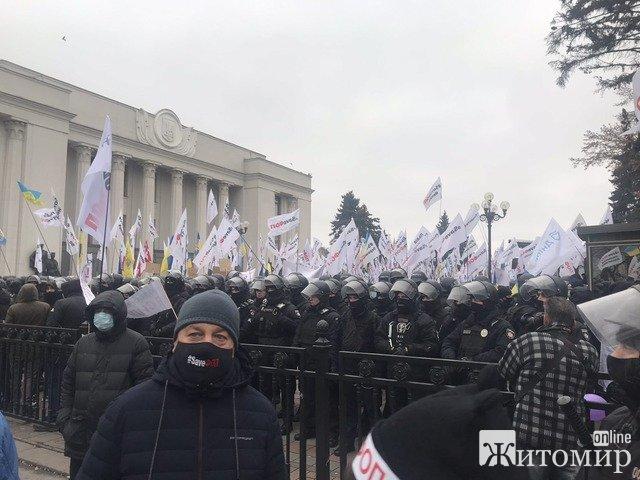 """""""Вразили дуже жорсткі дії поліції"""": організатор вчорашнього мітингу підприємців розповів про їх вимоги від влади та про обурюючі дії поліції"""