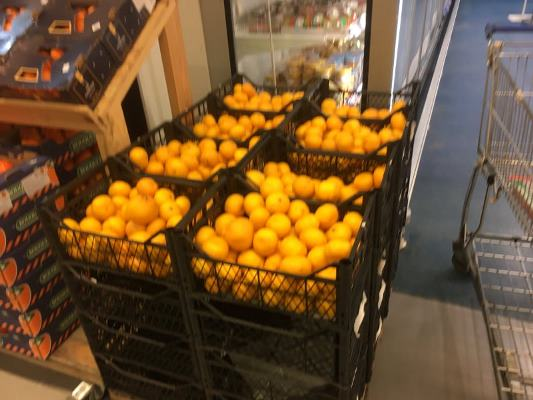Почому турецькі мандарини у житомирських супермаркетах?