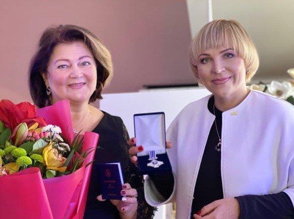 Директорку житомирської музичної школи нагородили відзнакою. ФОТО