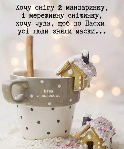 ПРАВДА ЖИТТЯ! Хочу снігу й мандаринку...