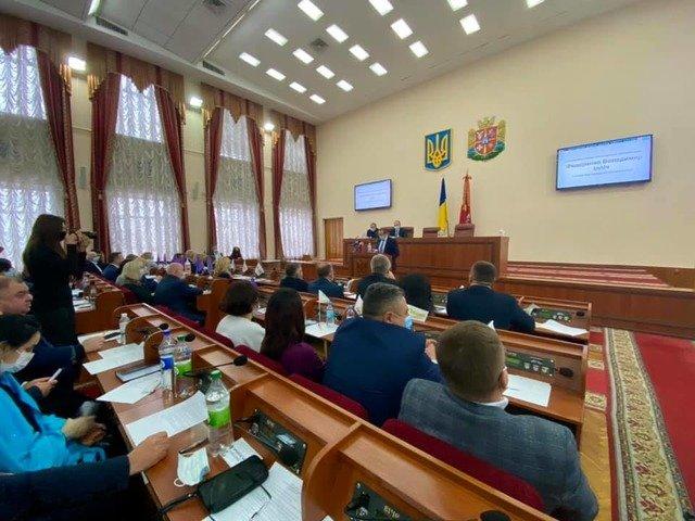 Володимир Федоренко - голова нової Житомирської обласної ради