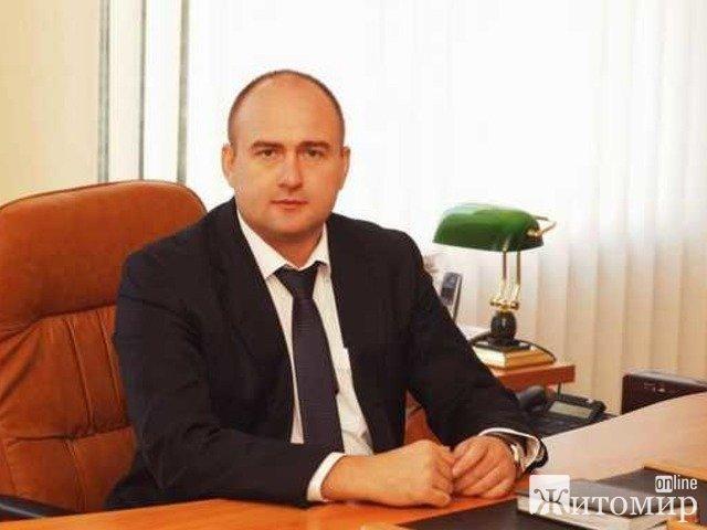 Дохід за рік новообраного першого заступника голови Житомирської облради Олега Дзюбенка