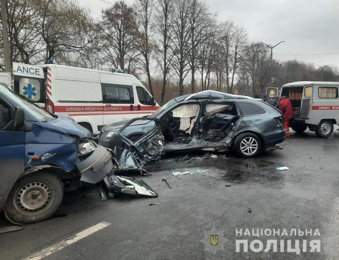 На Житомирщині сталася ДТП: травмувалися двоє дітей та троє дорослих