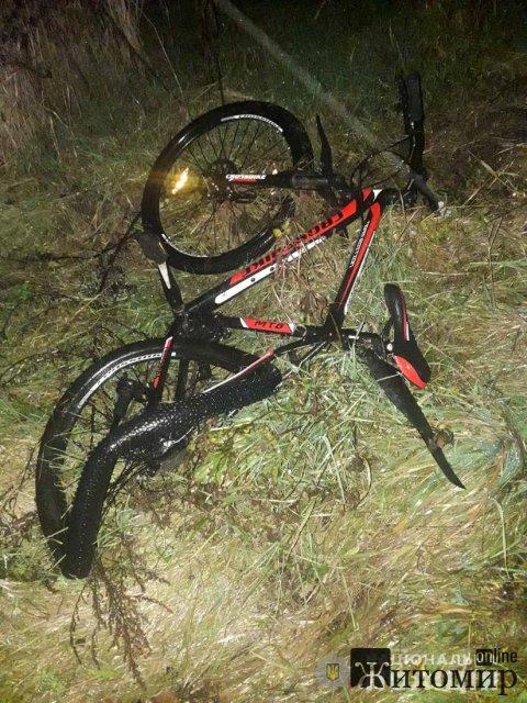 Житель Дніпропетровщині на Renault на смерть збив велосипедиста у Любарському районі. ФОТО