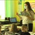 Як учні 1-4 класів продовжують навчання у школах Житомира. ВІДЕО