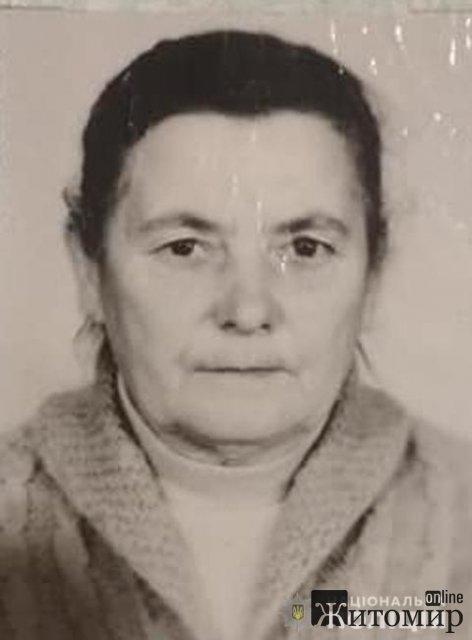 На Житомирщині розшукують пенсіонерку, яка пішла до лісу та додому не повернулась. ФОТО