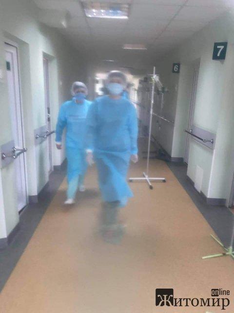 Житомирська журналістка побувала в інфекційному відділенні: Другий день під враженням. ФОТО