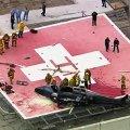 Донорское сердце чудом уцелело и при падении вертолета, и при падении врача. ВИДЕО