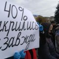У Житомирі підприємці вийшли на протест проти карантину