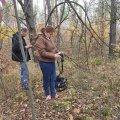 У лісі на Житомирщині виявили розграбований курган. ФОТО