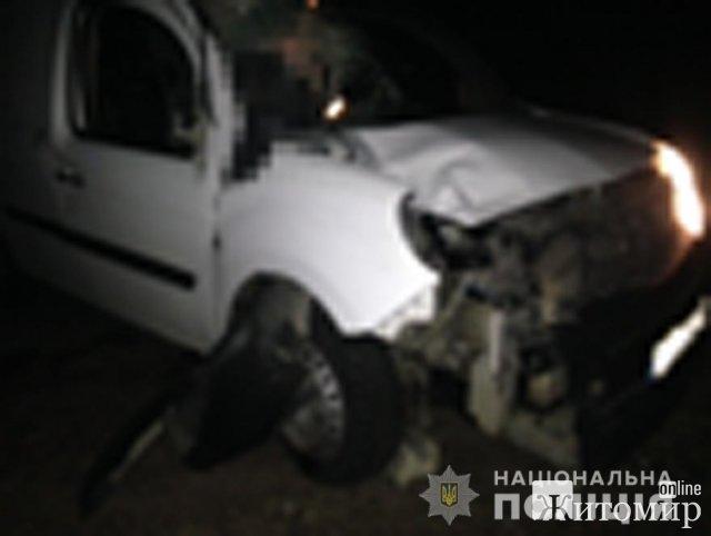 У Житомирській області Renault Kangoo збив велосипедиста, чоловік загинув. ФОТО