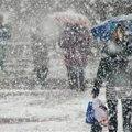 Погода в Україні принесе перші опади у вигляді мокрого снігу вже на вихідних
