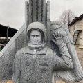 На Байковому кладовищі встановлять пам'ятник Леоніду Каденюку, які виготовили каменярі з Житомирщини. ФОТО